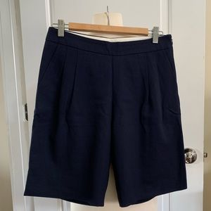 J.Crew Collection Navy Bermudas Knee length Shorts
